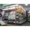 超市日用品陈列用钛铝合金精品货架展柜F003