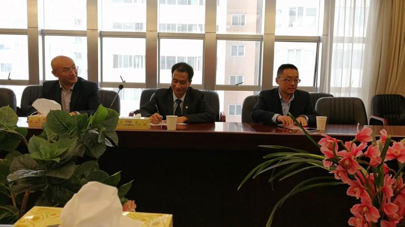 左起:杨明军、罗永安、王林涛